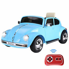 Aosom Licensed Beetle Electric Kids Ride-On Car 6V Battery Powered Toy