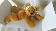 """New ListingAnnette Funicello """"Mango Tango"""" Mohair Bear 7"""" New in Box with Coa"""