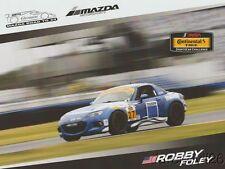 2017 Robby Foley Freedom Autosport Mazda MX-5 ST IMSA CTSC postcard