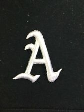 Oakland Athletics A's White A Patch Logo MLB Baseball 2""