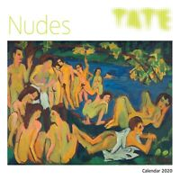 Tate - Nudes 2020 Wall Calendar (Art Calendar) 30 x 30cm by Flame Tree FREE POST
