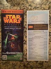 Disney's Star Wars Weekend 2 Park Map/Times Guide May 23-25, 2014!