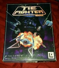 """STAR WARS TIE FIGHTER PC 3.5"""" FLOPPY DISK GAME PLAYABLE DEMO VERSION SUPER RARE"""