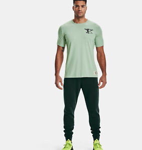 """2021 Under Armour Mens UA Project Rock Charged Cotton Fleece Pants """"The Rock"""""""