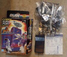 GI Joe COBRA Surveillance Port Battle Station Hasbro 1985 Open - Sealed Contents