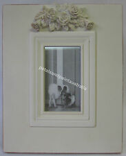 28cm New French Provincial Country Wooden Photo Frame with Ornate Carved Roses