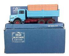 NZG -MERCEDES BENZ LAK 2624 6x6 TIPPER TRUCK- VINTAGE OLDTIMER EDITION MODEL BOX