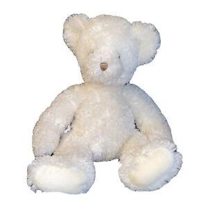 "Russ Berrie Vintage NINA Teddy Bear 12""Cream Plush Soft Cuddly Stuffed Animal"