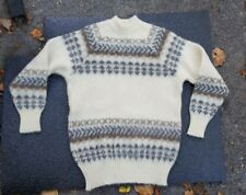 Alafoss sweater ice wool Icelandic size S ladies or perhaps would fit a boy MINT