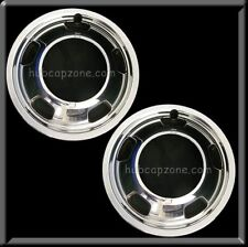 "(2) 2015-2016 Dodge Ram Truck 3500 Front Pair 17"" Hub caps Wheel Simulators"