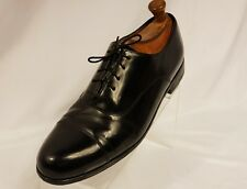 Bostonian Classics 11.5 M Mens Oxford BLACK Leather Brogue Cap Toe FIRST FLEX S4