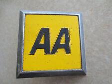 1970s English AA car badge for Austin Morris MG Riley Rover Wolseley Jaguar