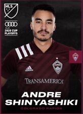 [DIGITAL CARD] Topps Kick - Andre Shinyashiki - MLS 2020 Playoffs - Team Color