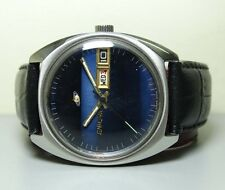 VINTAGE ENICAR AUTOMATIC DAY DATE SWISS MENS ANTIQUE WRIST WATCH G840 OLD USED