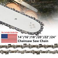"14""/16""/18""/20""/22""/24""Chainsaw Saw Chain For 3/8''LP Chain (No Guide Bar)"
