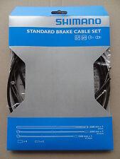 Shimano Bremszug Set Standard, schwarz, NEU