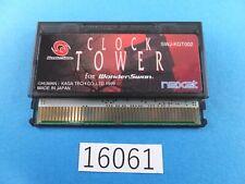 Clock Tower WonderSwan WS Wonder Swan Video Games Used From Japan 16061