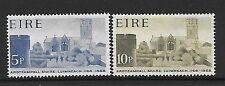 L'Irlanda SG241/2 1968 St. Mary's Cathedral Gomma integra, non linguellato