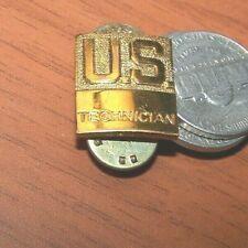 Post World War 2 US civilian technician badge