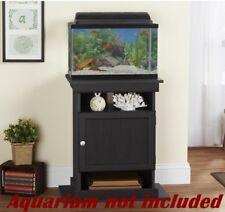 10-20 Gallon Elegant Fish Tank Holder Black Aquairum Stand Strong Base Furniture