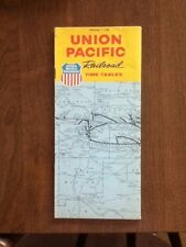 2 -1969 Union Pacific Railroad Time Table Train Old, September & December