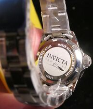 WOMANS INVICTA 12521 PROFESSIONAL DIVERS WATCH NEW IN BOX