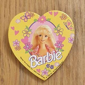BARBIE Heart Shaped Vintage Badge