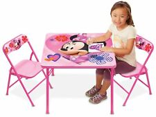 Minnie Mouse Happy Helpers Erasable Activity Table and Chairs Playset