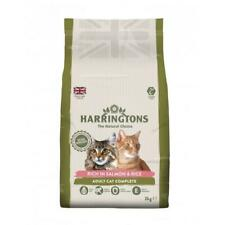 Harringtons Complete Adult Salmon with Rice Cat Food   Cats