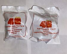 2019 McDonalds 40TH ANNIVERSARY The Surprise Happy Meal Toys #17 & #18