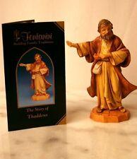 "Roman Fontanini Thaddeus, the Innkeeper Sculpture Figurine Decor 5"" Tall"