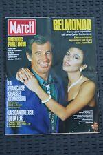 PARIS MATCH 1935 - 27 juin 1986 - Belmondo Rey Manson