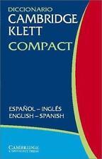 Diccionario Cambridge Klett Compact Español-Inglés/English-Spanish-ExLibrary