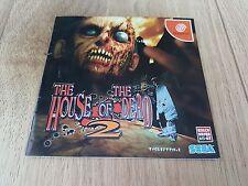 La CASA DEI MORTI 2 (Sega Dreamcast, 2001) VERSIONE GIAPPONESE Importazione