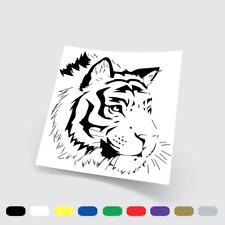 Adesivi in vinile Stickers Prespaziati Tigre 8 Auto Notebook Parete Moto Pc