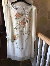BNWT Monsoon Ivory Silk Wedding Dress Size 14
