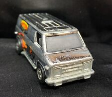 HOT WHEELS CALIFORNIA CRUSIN Dodge Van Chrome -1974 Hong Kong