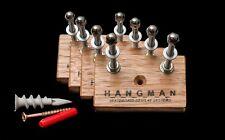 4 x Tasmanian Oak Hangman Skateboard Display Systems, Deck Wall Mount Hanger