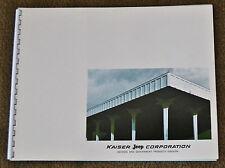 VTG 1969 Advertising Kaiser Jeep Corporation Defense Government Brochure M151 N