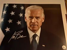 Joe Biden 46th President of America Autograph 8x10 Original W/Coa