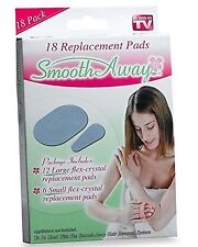 Smooth Away Hair Removal [18 replacment pads] As Seen on TV, New