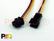 3 Stk x Stecker Verdrahtet 2.54mm 2 polig 20cm DUP254 #A2158