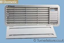 WHITE DOMETIC TOP FRIDGE VENT GRILL KIT & COVER LS200 caravan motorhome