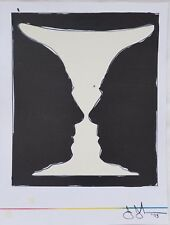 Jasper Johns, Cup 2 Picasso Lithograph from XXe Siecle no. 40 June 1973