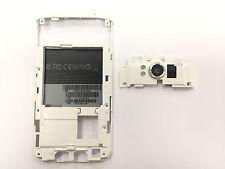 ORIGINALE HTC Sensation XL g21 mezzi quadro middleframe fotocamera quadro di vetro bianco