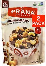 2 Packs Trail Mix Prana Organic Kilimanjaro Deluxe Dark Chocolate 24oz Each Pack