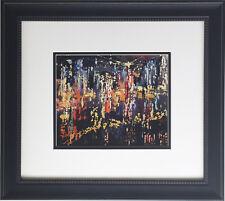 "LeRoy Neiman ""New York City 1958"" Newly CUSTOM FRAMED Art Print - Manhattan NYC"