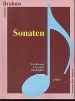 Brahms - Sonaten , Urtext