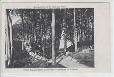 AK Scharbeutz, Wolfsschlucht bei Hotel Augustusbad, 1920