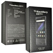 New BlackBerry KEY2 LE 32GB BBE100-1 QWERTY Slate Factory Unlocked 4G SIMFree